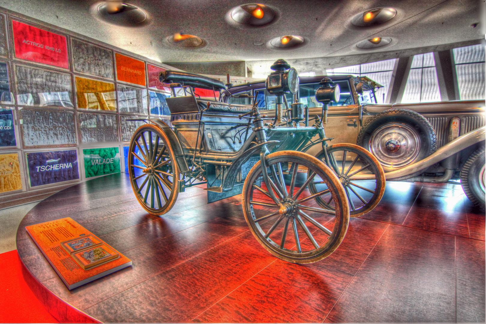 Daimler Museum.
