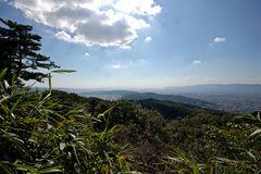 Daimonji-yama, Gipfelblick