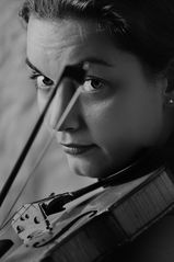 Dajana mit Geige 1