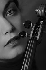Dajana mit Geige 2
