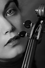 Dajana mit Geige