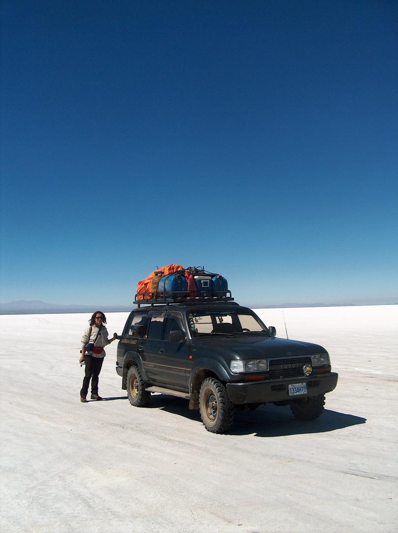 Dal Cile e la Bolivia (deserto di sale)