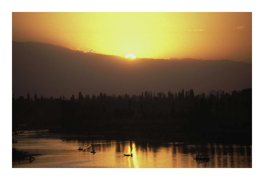 Dal Lake Srinagar India