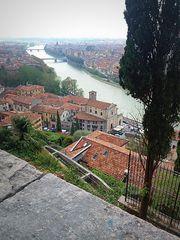 ..Dal piazzale di Castel S:Pietro...visione di sinistra...