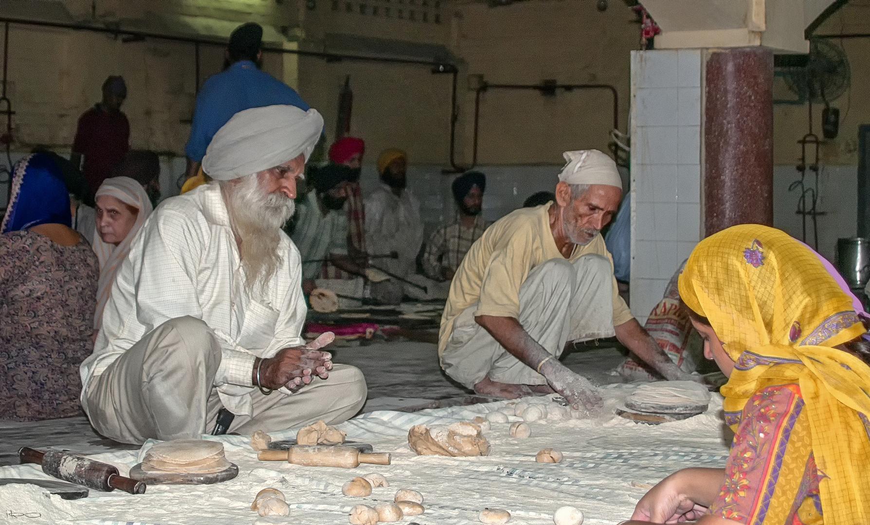 Dal und Chapati für Alle