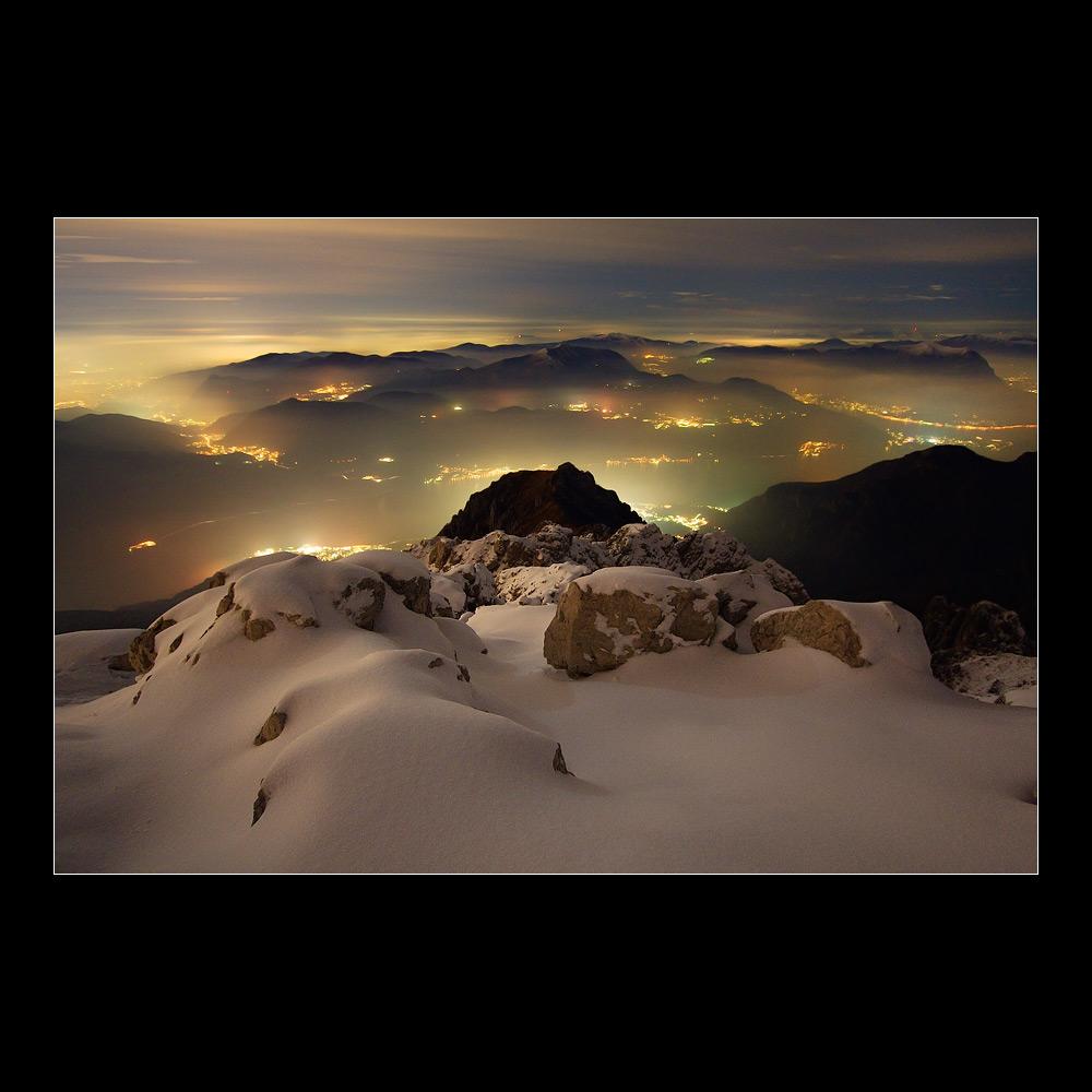 Dalla cima della Grignetta - Lights