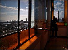Dalla finestra dell'ascensore di Castelletto colors