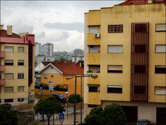 Dalla mia finestra con pioggia
