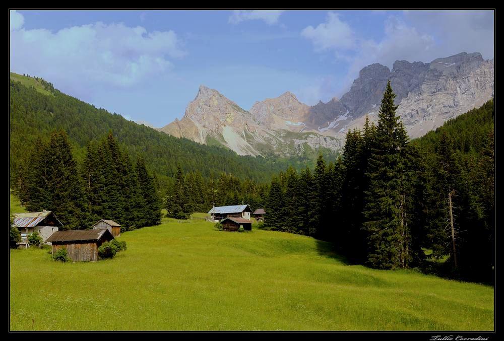 ..dalla valle S.Nicolò...