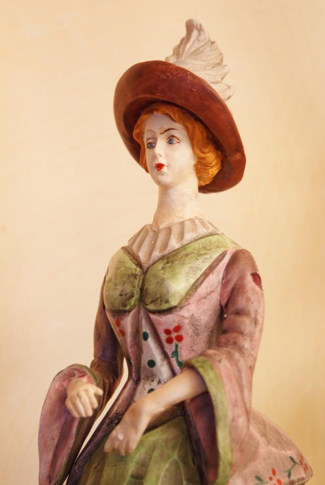 Dama in legno