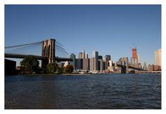 Damaged Brooklyn Bridge