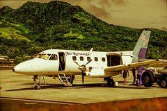 Damals bei Air Rarotonga