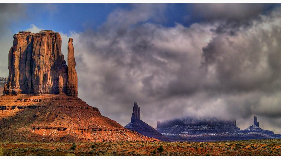Damals im Monument Valley..