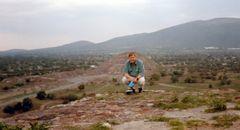 Damals in Teotihuacàn
