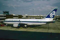 Damals Passagierflugzeug...