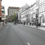 Damals und Heute - Rathausstraße Stolberg Rhld.