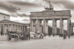 Damals wars..... Brandenburger Tor .- Berlin  Mitte -