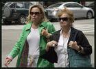 Damen eilen sich in New York