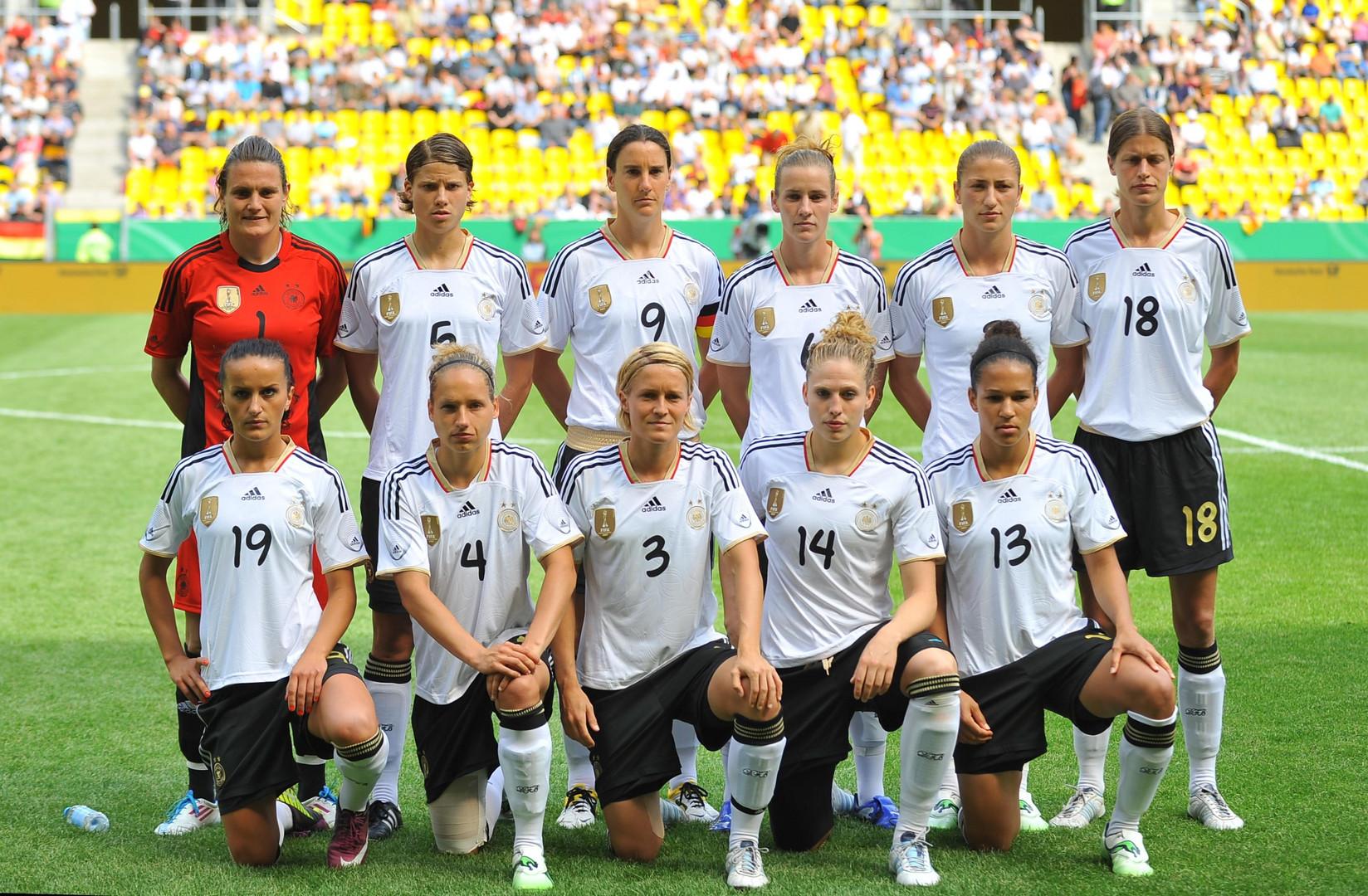 Damen Fußball Nationalmannschaft