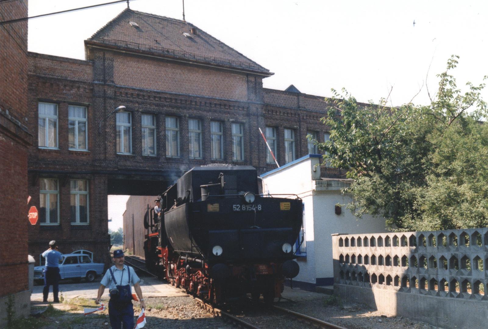 Dampf auf der Leipziger Hafenbahn -3