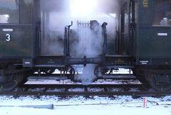 Dampf gegen die Kälte