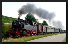 Dampf im Kaiserstuhl