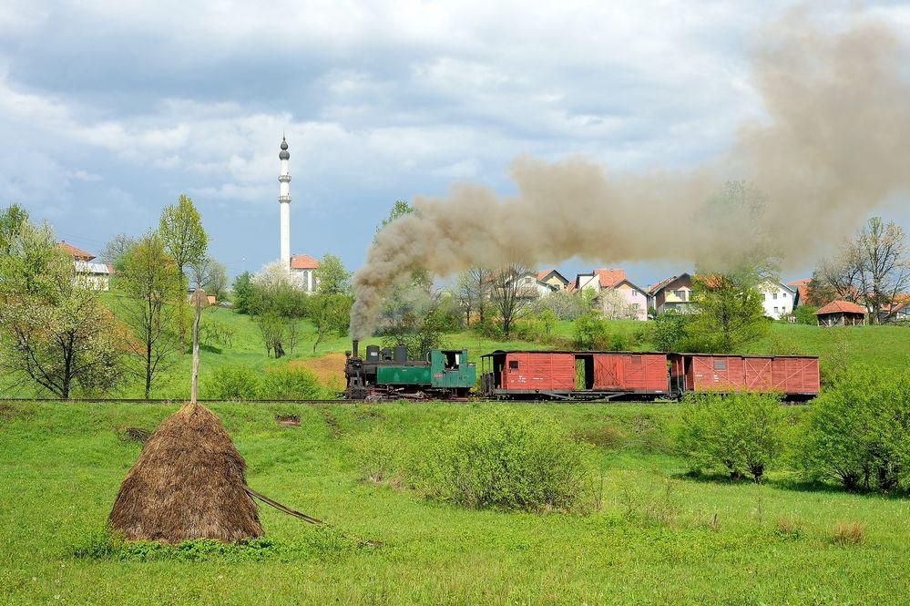 Dampf in Bosnien-Herzegowina VII