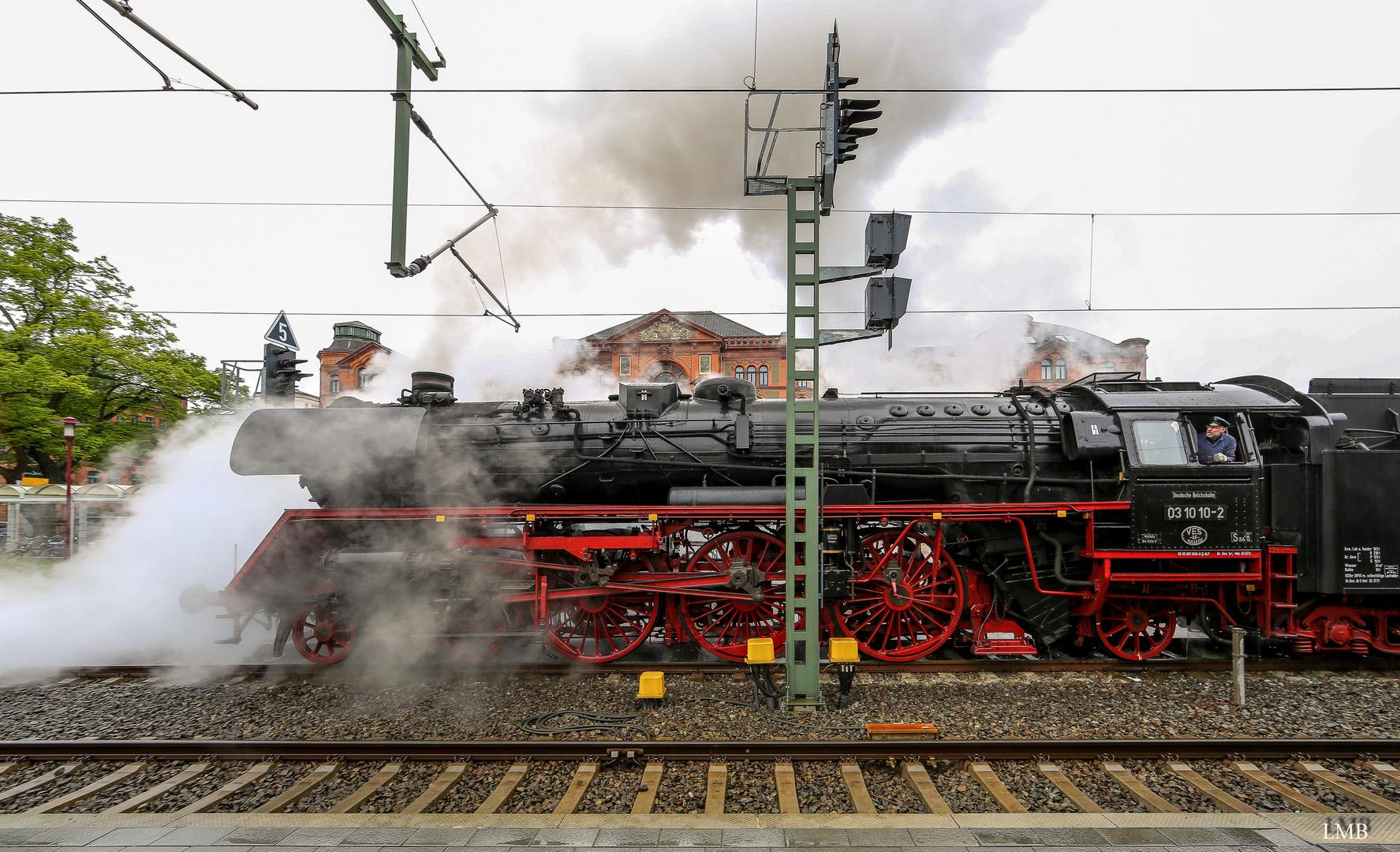 Dampf in Schwerin