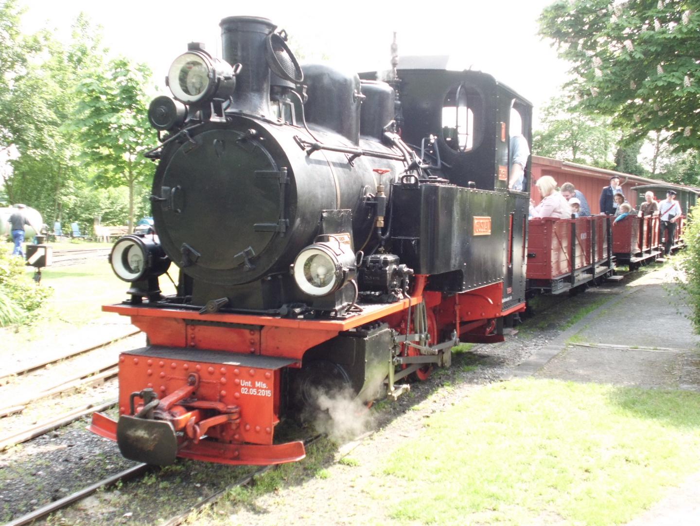 Dampf-Kleinbahn Mühlenstroth in Gütersloh 2017
