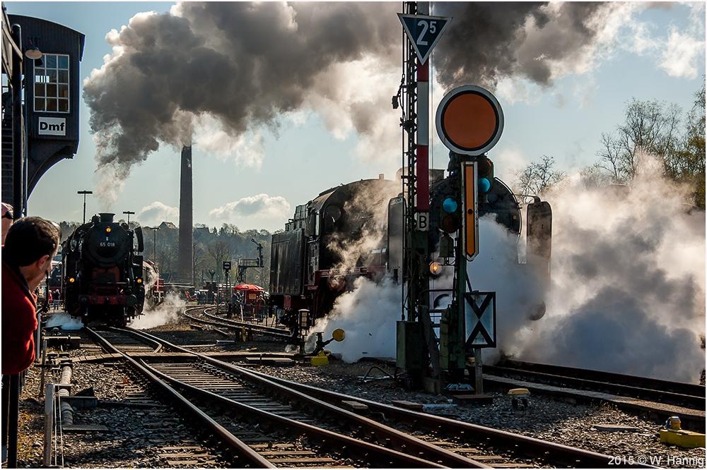 Dampf ohne Grenzen...