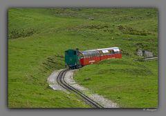 Dampf- zahnradbahn Rothorn