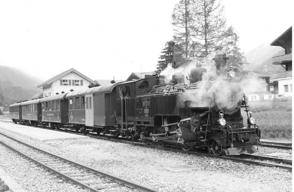 Dampfbahn Furka Bergstrecke Foto & Bild | historische ...