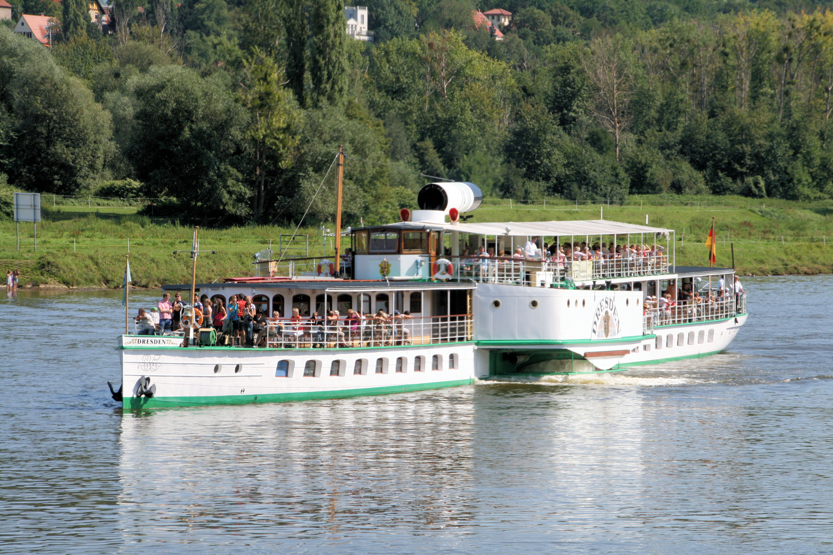 Dampfer Dresden