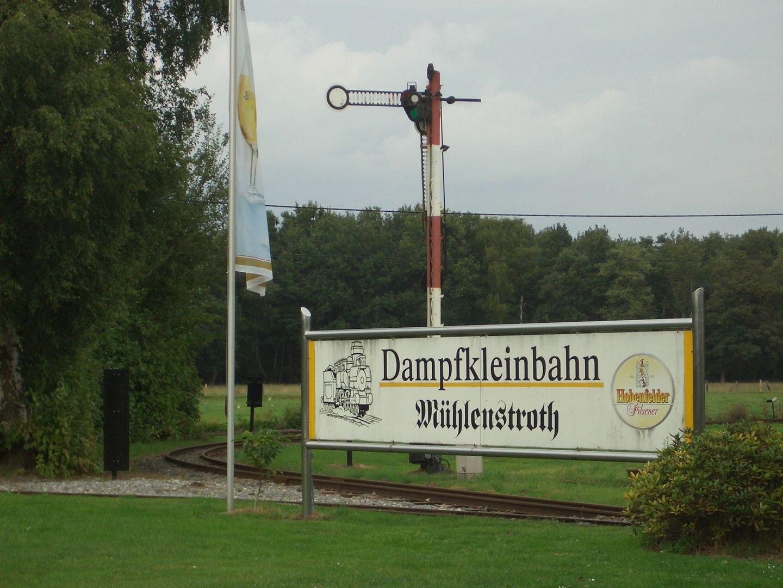 Dampfkleinbahn Mühlenstroth in Gütersloh 2009