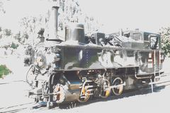Dampflock Zillertalbahn