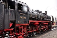 Dampflok 38 2267 - 1
