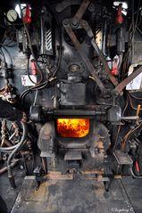 Dampflok 38 2267 - Feuerung