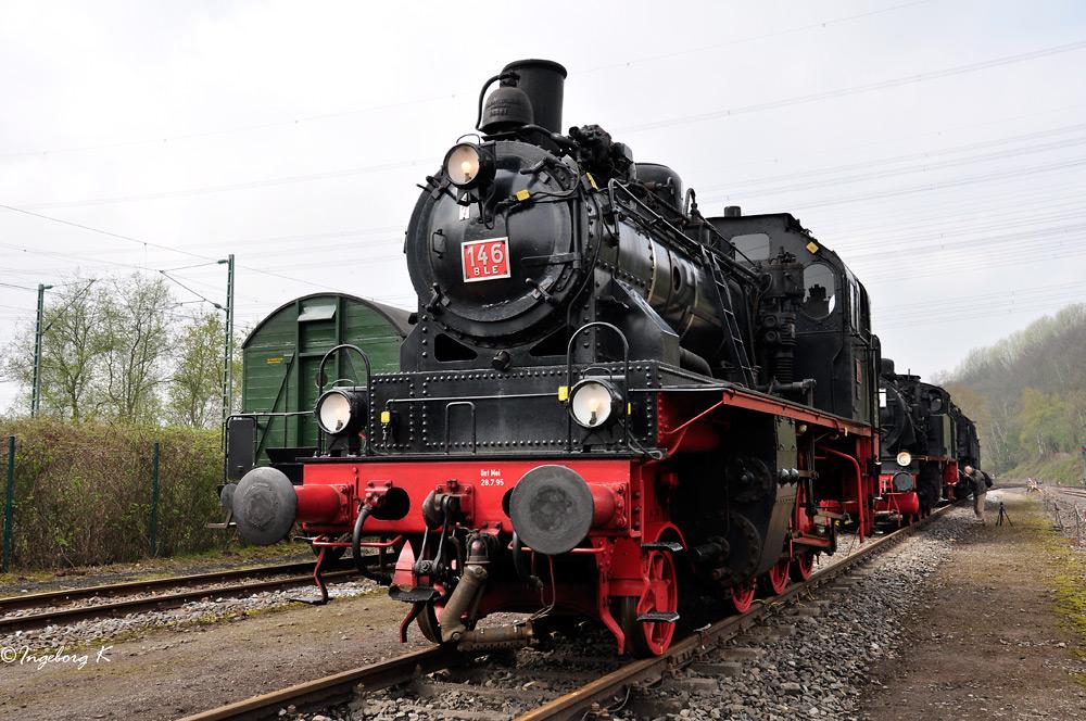 Dampflok BLE 146 - Bj. 1941 - ausgedient seit 2003