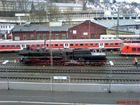 Dampflok der EFB in Siegen