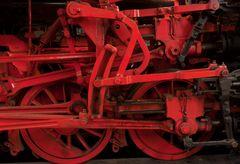 Dampflok Fahrwerk