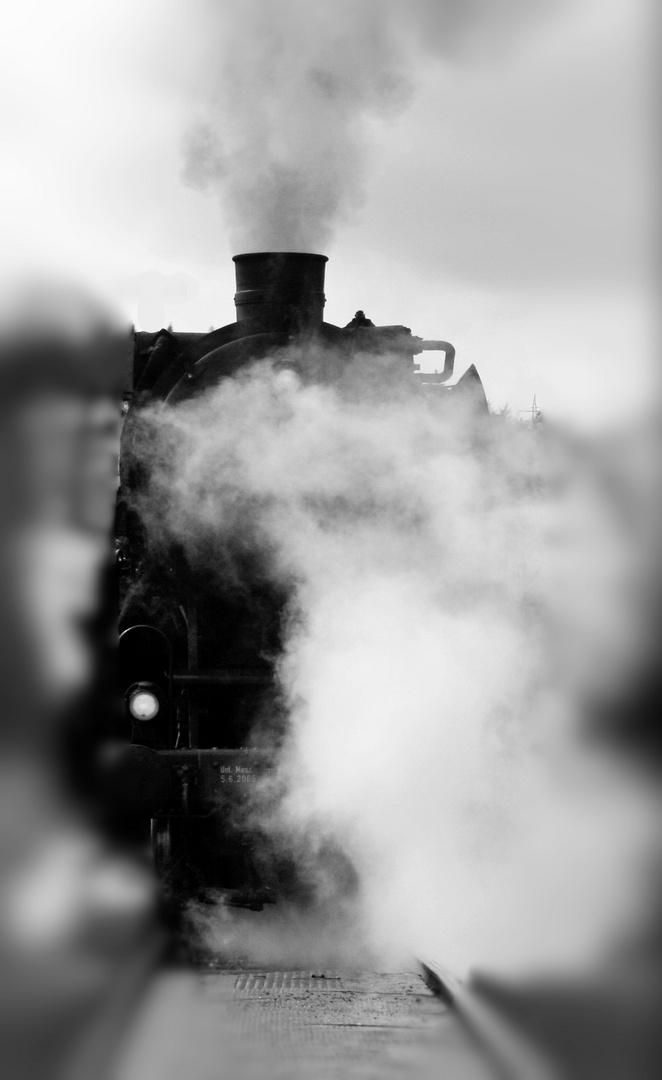 Dampflok - fotografiert in Gerolstein