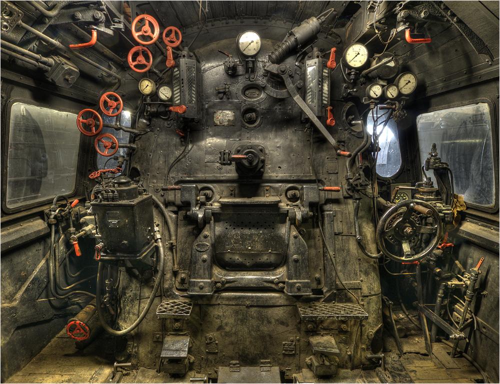 . Dampflok Museum Hermeskeil .