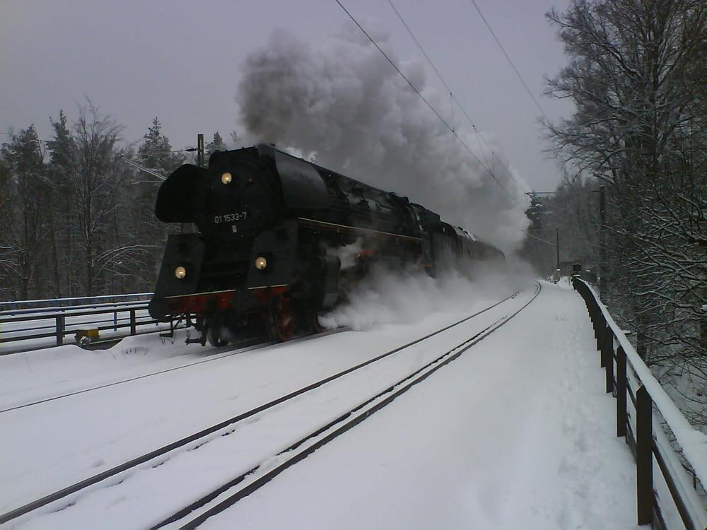 Dampflok Reihe 01