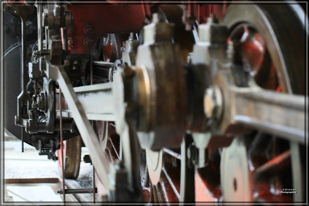 Dampflok - Technik-Museum-Speyer - Detailansicht