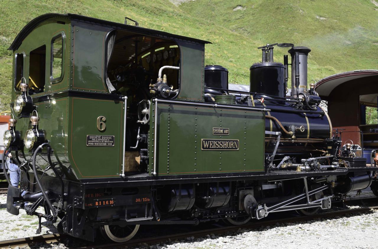 Dampflok Weisshorn
