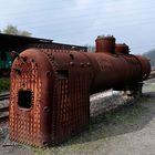 Dampflokkessel - außer Betrieb