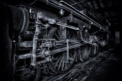 Dampflokomotive 01 204 .