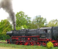 Dampflokomotive der 52 er Baureihe in Luhdorf