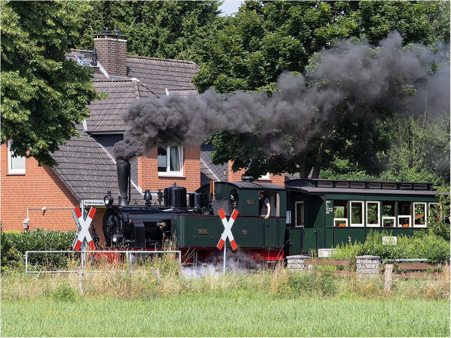 Dampflokomotive Hoya