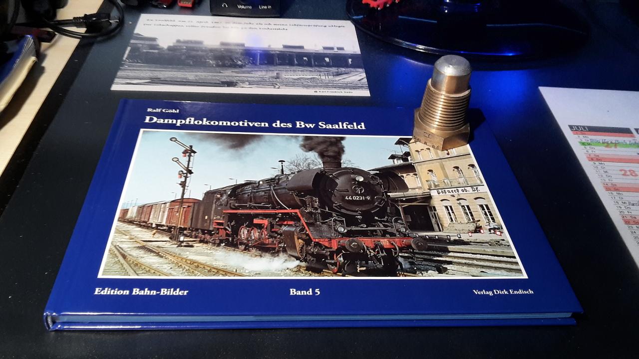 Dampflokomotiven des Bw Saalfeld